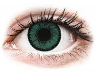 Lentillas de color verde - sin graduación - SofLens Natural Colors Jade - Sin graduar (2 lentillas)