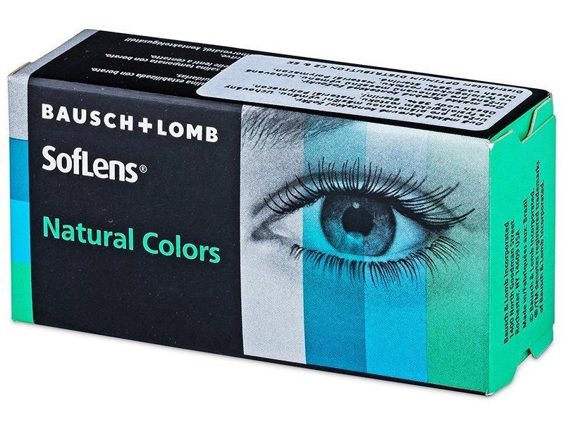 SofLens Natural Colors Jade - Sin graduar (2 lentillas)