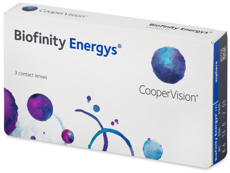 Biofinity Energys (3 lentillas) - Contact lenses