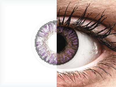 FreshLook ColorBlends Amethyst - Sin graduar (2 lentillas)