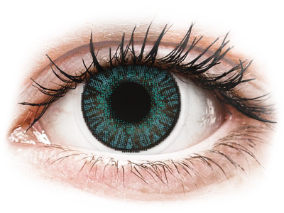 FreshLook ColorBlends Brilliant Blue - Sin graduar (2 lentillas)