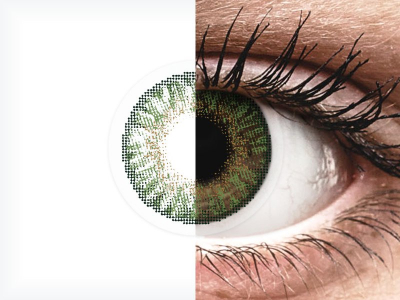 FreshLook ColorBlends Gemstone Green - Graduadas (2 lentillas)