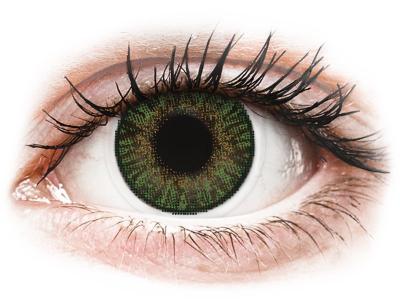 FreshLook ColorBlends Gemstone Green - Sin graduar (2 lentillas)