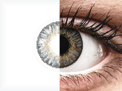 FreshLook ColorBlends Grey - Graduadas (2 lentillas)