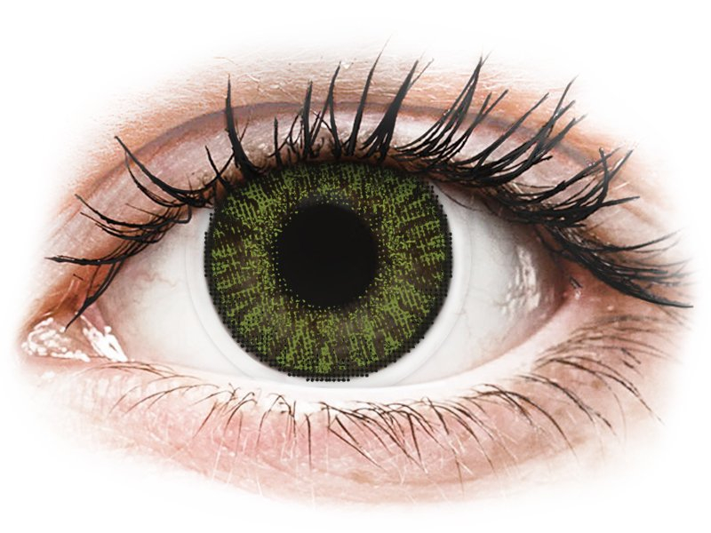 FreshLook ColorBlends Green - Graduadas (2 lentillas)