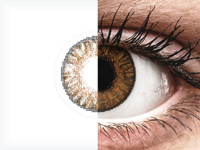 FreshLook ColorBlends Honey - Sin graduar (2 lentillas)