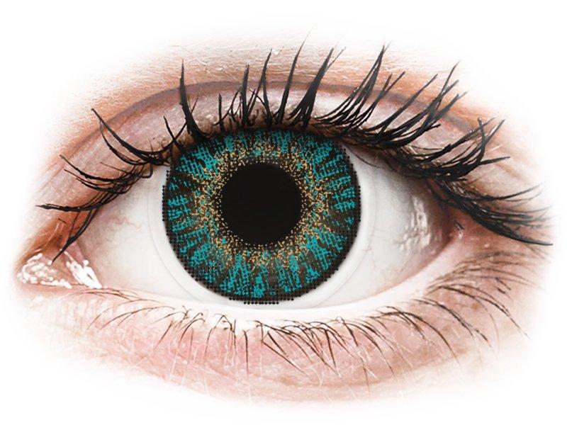 FreshLook ColorBlends Turquoise - Sin graduar (2 lentillas)
