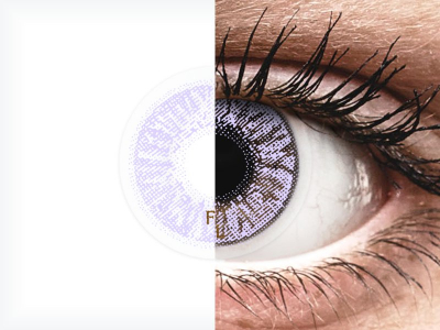 FreshLook Colors Violet - Graduadas (2 lentillas)