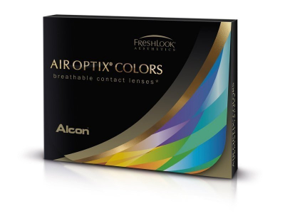 Air Optix Colors - Brilliant Blue - Sin graduar (2 lentillas)