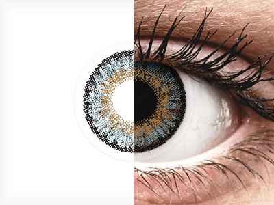 FreshLook One Day Color Blue - Sin graduar (10 lentillas)