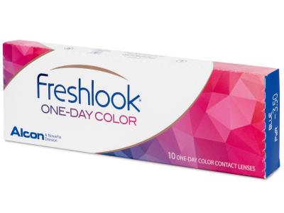 FreshLook One Day Color Blue - Sin graduar (10 lentillas)