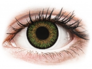 Lentillas de color verde - sin graduación - FreshLook One Day Color Green - Sin graduar (10 lentillas)
