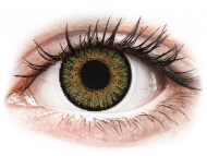 Lentillas de color café - sin graduación - FreshLook One Day Color Pure Hazel - Sin graduar (10 lentillas)
