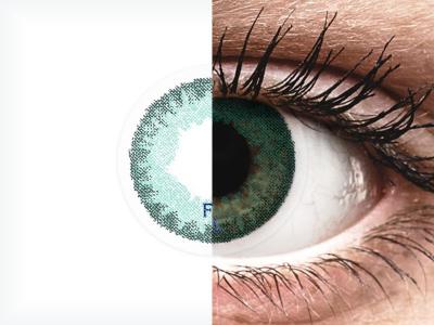 FreshLook Dimensions Carribean Aqua - Sin graduar (2 lentillas)