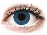 Lentillas de color azul - sin graduación - FreshLook Dimensions Pacific Blue - Sin graduar (2 lentillas)
