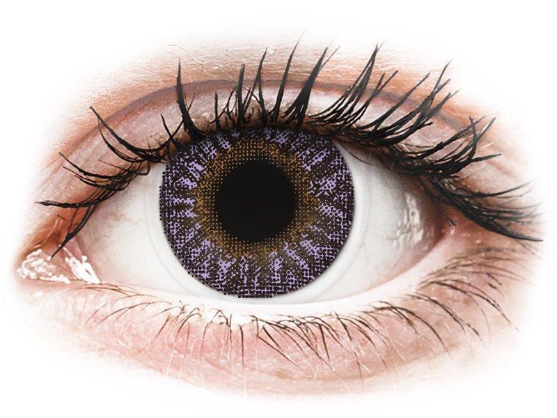 TopVue Color - Violet - Sin graduar (2 lentillas)