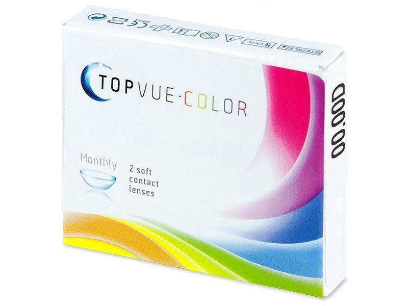 TopVue Color - Honey - Sin graduar (2 lentillas) - Diseño antiguo