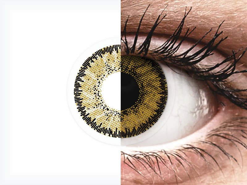 SofLens Natural Colors Dark Hazel - Sin graduar (2 lentillas)