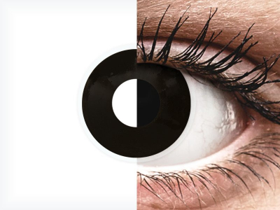ColourVUE Crazy Lens - Blackout - Diarias sin graduar (2 lentillas)