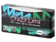 ColourVUE Crazy Lens - Blackout - Diarias sin graduar (2 lentillas)