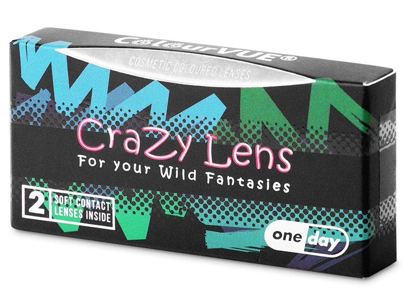 ColourVUE Crazy Lens - Blackout - Diarias sin graduar (2 lentillas) - ColourVUE Crazy Lens - Blackout - Diarias sin graduar (2 lentillas)