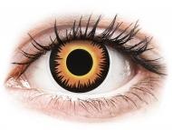 Lentillas de colores especiales - sin graduación - ColourVUE Crazy Lens - Orange Werewolf - Diarias sin graduar (2 lentillas)