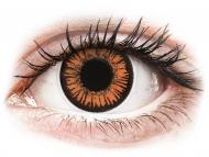 Lentillas de color naranja - sin graduación - ColourVUE Crazy Lens - Twilight - Diarias sin graduar (2 lentillas)