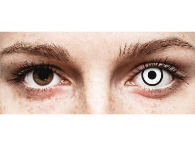 ColourVUE Crazy Lens - White Zombie - Diarias sin graduar (2 lentillas)