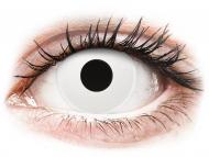 Lentillas Maxvue Vision - ColourVUE Crazy Lens - Whiteout - Diarias sin graduar (2 lentillas)