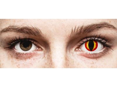 ColourVUE Crazy Lens - Dragon Eyes - Diarias sin graduar (2 lentillas)