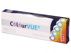 ColourVue One Day TruBlends Rainbow 2 - Sin graduar (10 lentillas)