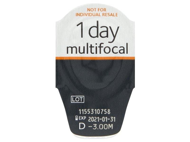 Proclear 1 Day multifocal (30lentillas) - Previsualización del blister