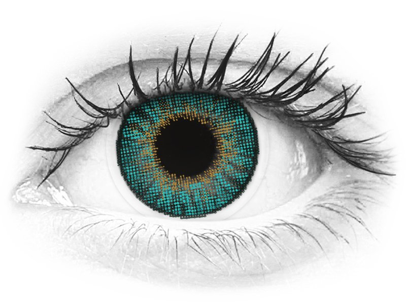 Air Optix Colors - Turquoise - Sin graduación (2 Lentillas)