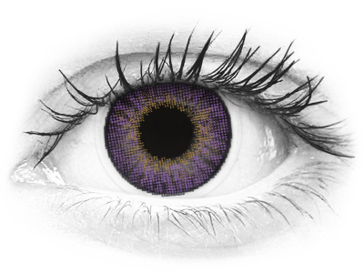 Air Optix Colors - Amethyst - Sin graduación (2 Lentillas)
