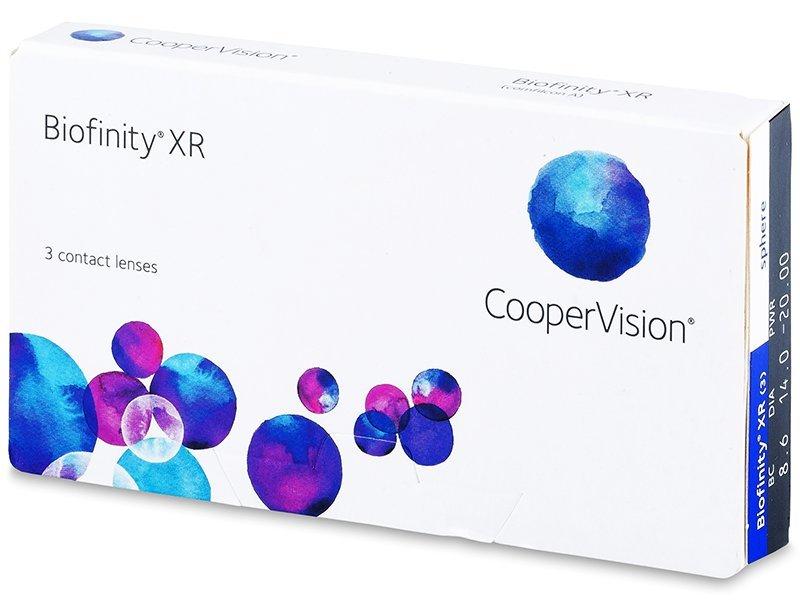 Biofinity XR (3lentillas) - Lentes de contacto mensuales