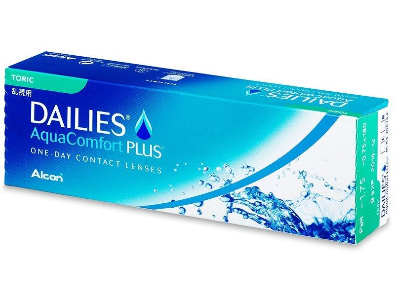 Dailies AquaComfort Plus Toric (30lentillas) - Lentillas tóricas