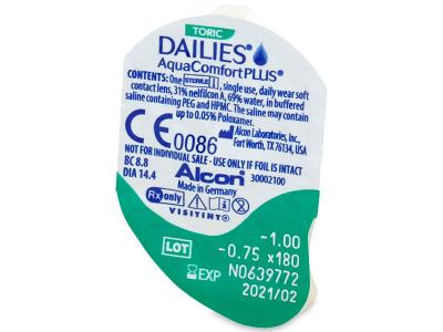 Dailies AquaComfort Plus Toric (30lentillas)