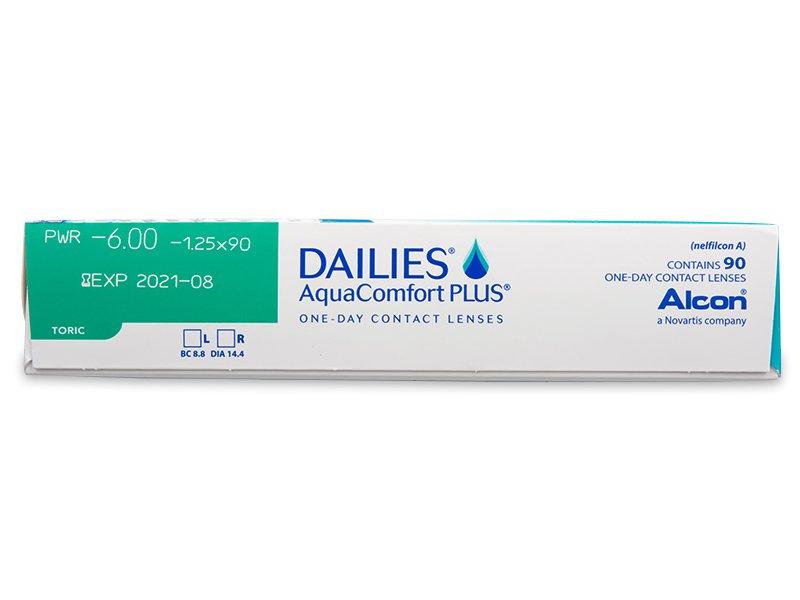 1b5856460044e Dailies AquaComfort Plus Toric (90 lentillas) - Previsualización de  atributos