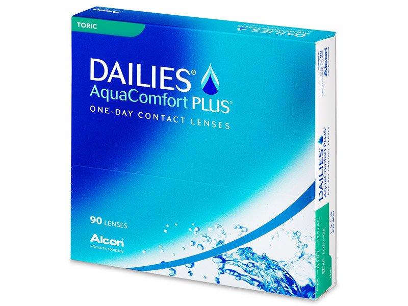 6d6decf82647a Dailies AquaComfort Plus Toric (90 lentillas) - Lentillas tóricas