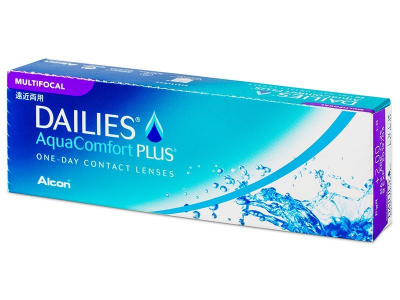 Dailies AquaComfort Plus Multifocal (30 lentillas)