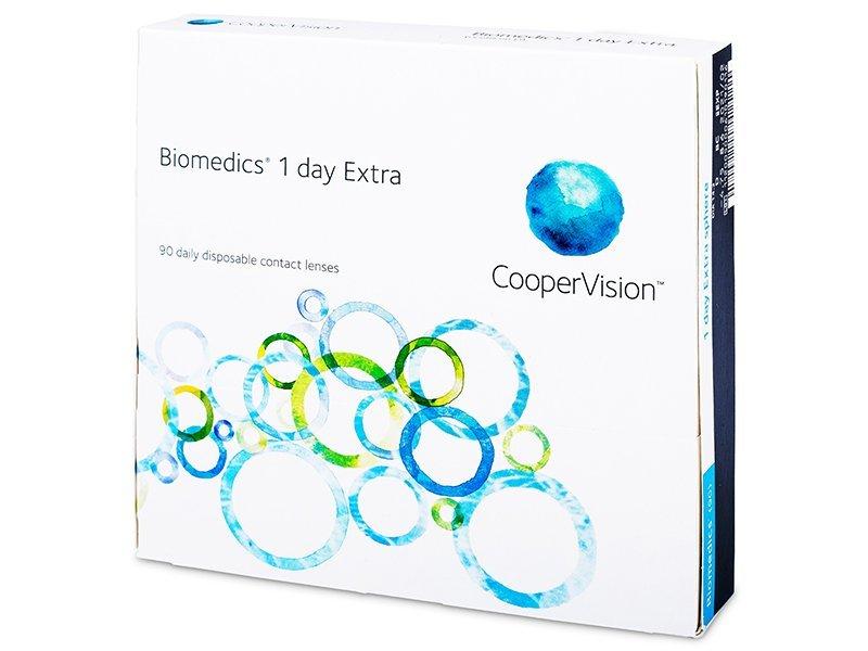Biomedics 1 Day Extra (90lentillas) - Lentillas diarias desechables