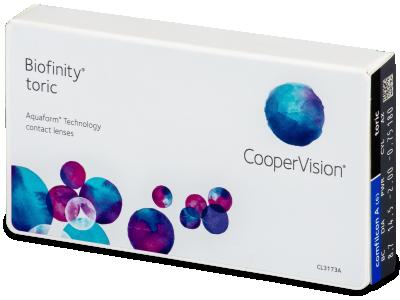 Biofinity Toric (6lentillas)