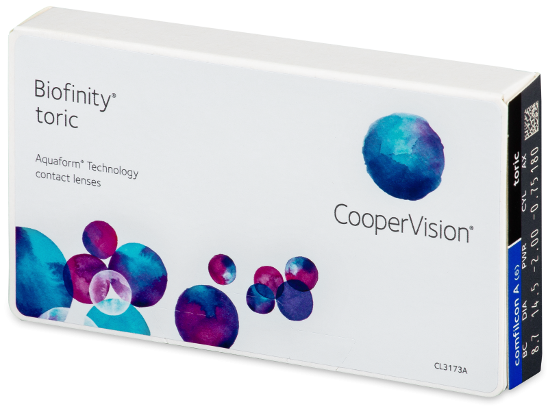 Biofinity Toric (6lentillas) - Lentillas tóricas
