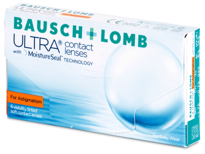 Bausch + Lomb ULTRA for Astigmatism (6 lentillas)