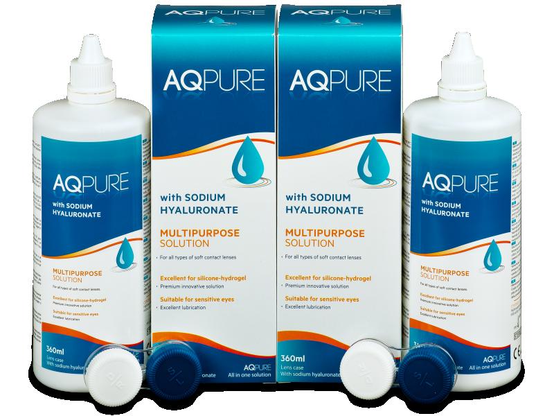 Líquido AQ Pure 2 x 360ml  - Pack ahorro - solución doble