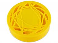 Estuche de lentillas con espejo - Estuche de lentillas con ornamento - Amarillo