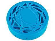 Estuche de lentillas con espejo - Estuche de lentillas con ornamento - Azul