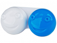 Estuche de lentillas - Estuche de lentillas 3D azul