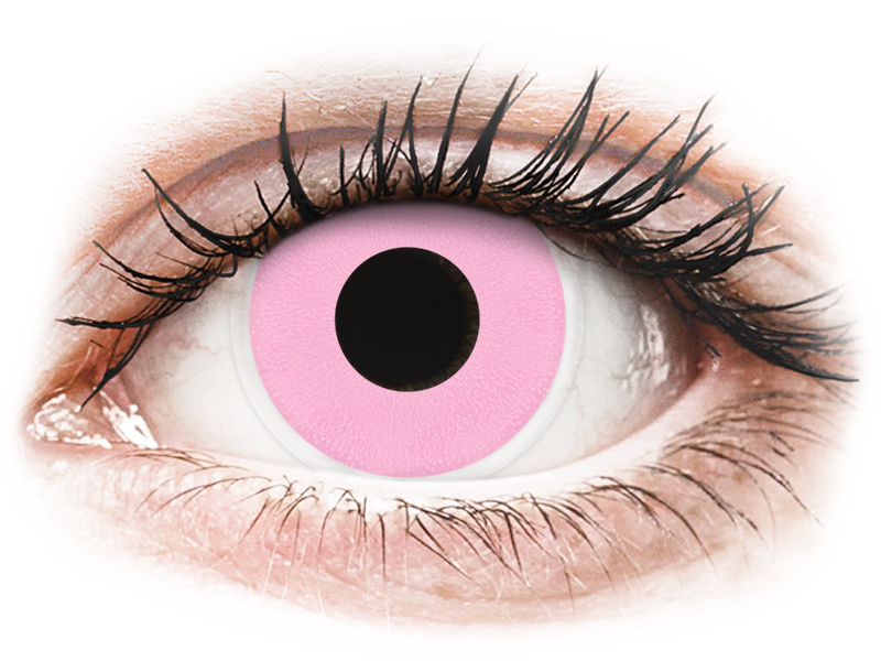 ColourVUE Crazy Lens - Barbie Pink - Sin graduar (2 lentillas)
