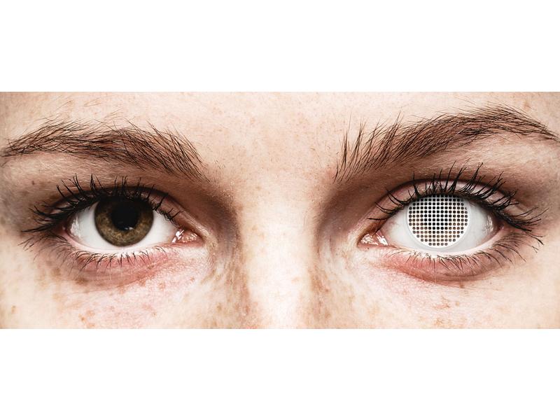 ColourVUE Crazy Lens - White Screen - Sin graduar (2 lentillas)